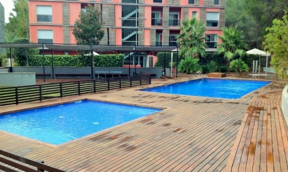 Duplex in the compound with pool and play ground in Bella Mar zone of Castelldefels | 3263-2-570x340-jpg