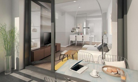 New flats in the quiet and green area in 20 km from Barcelona Center   1-new-flats-barcelona-suburb00002-570x340-jpg