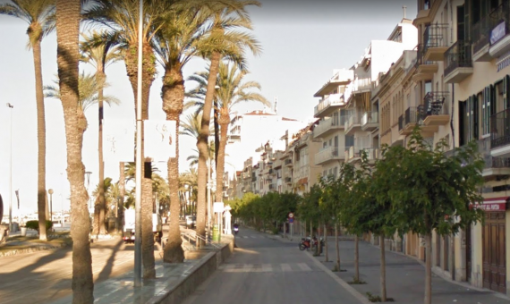 Building in Sitges on the first coastline for sale   sitges-ruta-terramarsitges_paseo_aerea-570x340-jpg